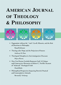 American Journal of Theology and Philosophy cover