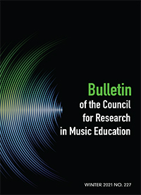 Bulletin of the Council for Research in Music Education cover
