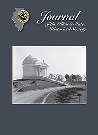 Journal of the Illinois State Historical Society cover