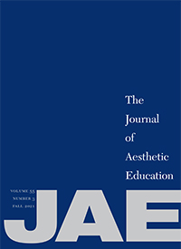 Journal of Aesthetic Education cover
