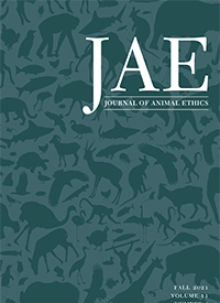 Journal of Animal Ethics cover