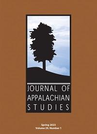Journal of Appalachian Studies cover
