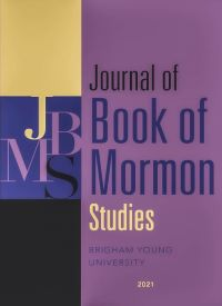 Journal of the Book of Mormon Studies cover