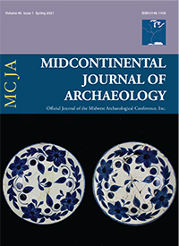 Midcontinental Journal of Archaeology  cover